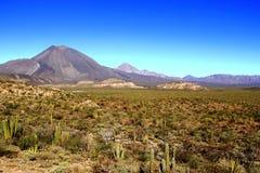 Tres volcanes de las vírgenes II Foto de archivo