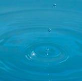 Tres waterdrops Fotos de archivo libres de regalías