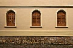 Tres Windows Imagen de archivo libre de regalías