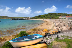 Tresco, острова Scilly стоковые фотографии rf