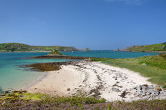 Tresco, Isles of Scilly Stock Images
