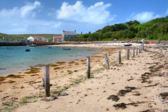Tresco, Isles of Scilly Royalty Free Stock Images