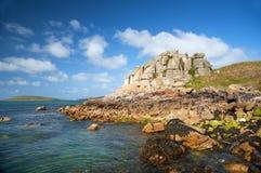 Tresco, isole di Scilly fotografia stock