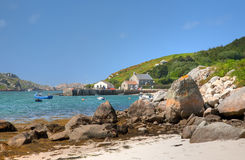 Tresco, isole di Scilly fotografia stock