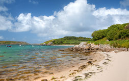 Tresco, wyspy Scilly zdjęcia royalty free