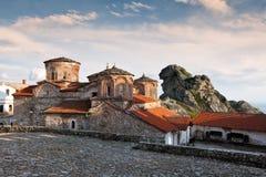 Treskavec kloster, Prilep, Makedonien Arkivfoton