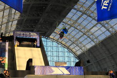 Trespass Big Air Competition (London) Royalty Free Stock Images