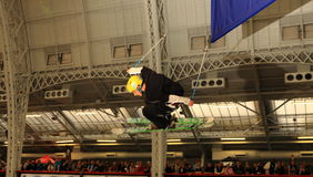 Trespass Big Air Competition (London) Royalty Free Stock Photography