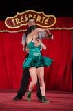 Tresperté Circo Royalty Free Stock Image