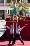 Tresperté Circo Stock Photo