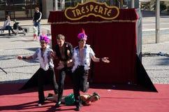 Tresperté Circo Stock Photos