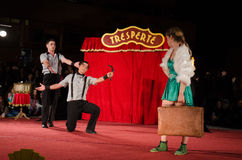 Tresperté Circo Royalty Free Stock Photography