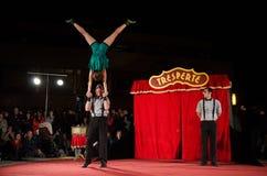 Tresperté Circo Royalty Free Stock Photos