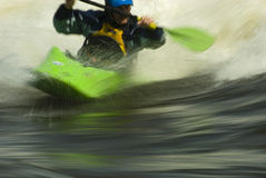Tressaillement de Whitewater Photographie stock