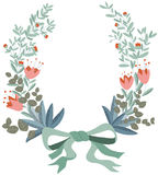 Tressez floral Photographie stock