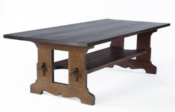 Tressle Dining Table. Arts and Craft Era Dining Table Royalty Free Stock Photography