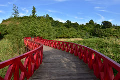 Trestle bridge Stock Photos
