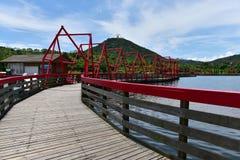 Trestle bridge Royalty Free Stock Photos