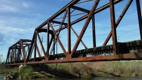 Trestle Bridge. Reminders of pasttimes a railroad bridge is endearing Royalty Free Stock Photo