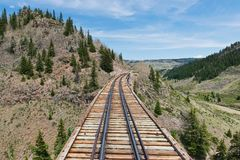 Trestle Stock Image