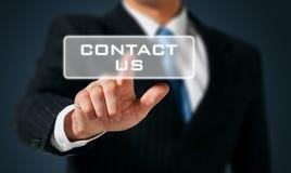Treten Sie mit uns in Verbindung Lizenzfreies Stockfoto