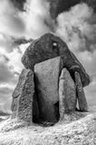 Trethevy Quoit. Ancient burial chamber in Cornwall Royalty Free Stock Image
