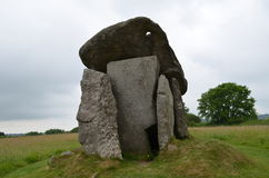 Trethevy Quoit. Royalty Free Stock Image