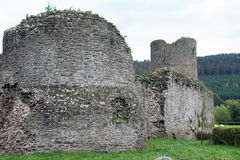 Tretower Castle Royalty Free Stock Photography
