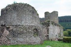 Tretower slott Royaltyfri Fotografi