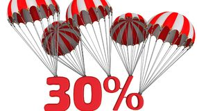 Trettio procent rabatt