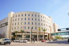 Trettonde juridisk strömkretsdomstol, Edgecomb domstolsbyggnad, i stadens centrum Tampa, Florida Royaltyfri Fotografi
