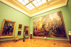 Tretyakov gallery in Moscow. Interior. Stock Image