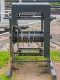 Treuil de serrure de canal Photographie stock
