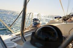 Treuil de voilier Images libres de droits