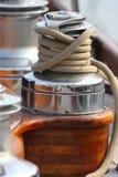 Treuil et corde Image libre de droits