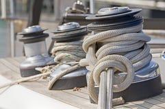 Treuils Photographie stock libre de droits