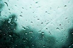 Treurige regen stock foto's