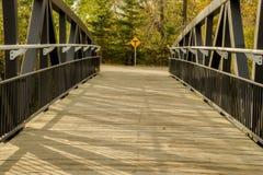 Trevägskorsning Fotografering för Bildbyråer