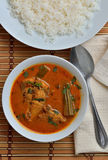 Trevally jest ryba curry Obrazy Royalty Free