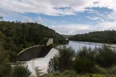 Trevallyn dam in Launceston Tasmania royalty free stock photography
