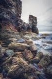 Trevaunance-Bucht Cornwall England Großbritannien Lizenzfreies Stockfoto