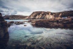 Trevaunance-Bucht Cornwall England Großbritannien Lizenzfreie Stockfotografie