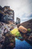 Trevaunance-Bucht Cornwall England Großbritannien Lizenzfreies Stockbild