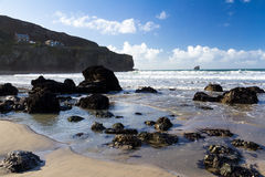 Trevaunance Cove Royalty Free Stock Image