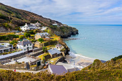 Trevaunance Cove St Agnes Cornwall Royalty Free Stock Photography