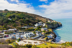Trevaunance Cove St Agnes Cornwall Stock Image