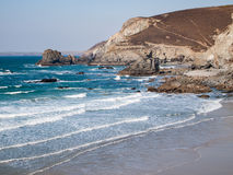 Trevaunance Cove St Agnes Stock Images
