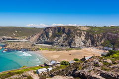 Trevaunance cove St Agnes Royalty Free Stock Images