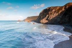 Trevaunance zatoczka Cornwall England uk Obraz Stock