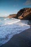 Trevaunance zatoczka Cornwall England uk Obraz Royalty Free